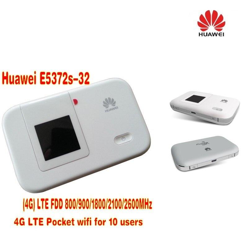HUAWEI E5372s 32 4G 150Mbps LTE Cat 4 Pocket Mobile font b WiFi b font Wireless