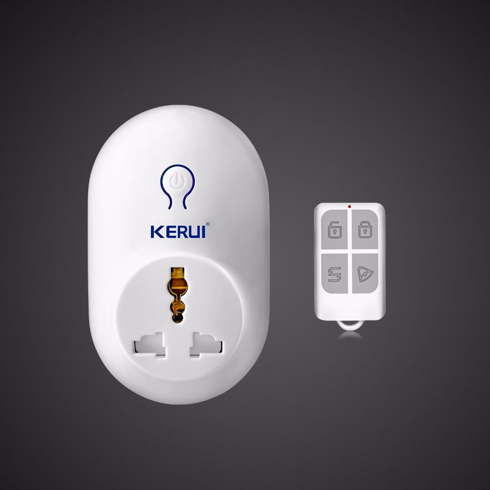 bilder für KERUI S71 Funk-fernbedienung Wechseln Smart Buchsenstecker Power 433 MHz für Hause Alarmanlage Security Zubehör