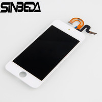 Sinbeda 5pcs Lot LCD Screen Replacement For Apple IPod Touch 5 Lcd Display Touch Screen Digitizer