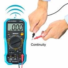LCD Digital Multimeter DC/AC Voltmeter Continuity Battery Diode Tester EM382B