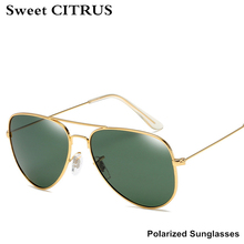 CITRUS Aviator Sunglasses Polarized