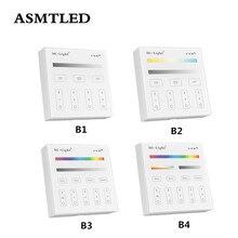 Панель управления Mi светильник B1, B2, B3, B4, 2,4G, сенсорный экран RF, управление для CCT, DIM, RGB, RGBW, RGB + CCT Светодиодная лента/лампа