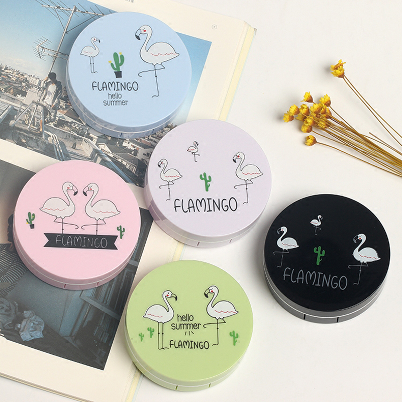 Cartoon Contact Lenses Case For Eyes For Lenses Container Contact Lens Box Lens Travel Mirror Travel Kit For Lenses Mignon