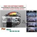 Estacionamento Câmera Do Carro inteligente/Para Citroen C2/C3/C4/C5 com Faixas Módulo Câmera Traseira Visão CCD Noite