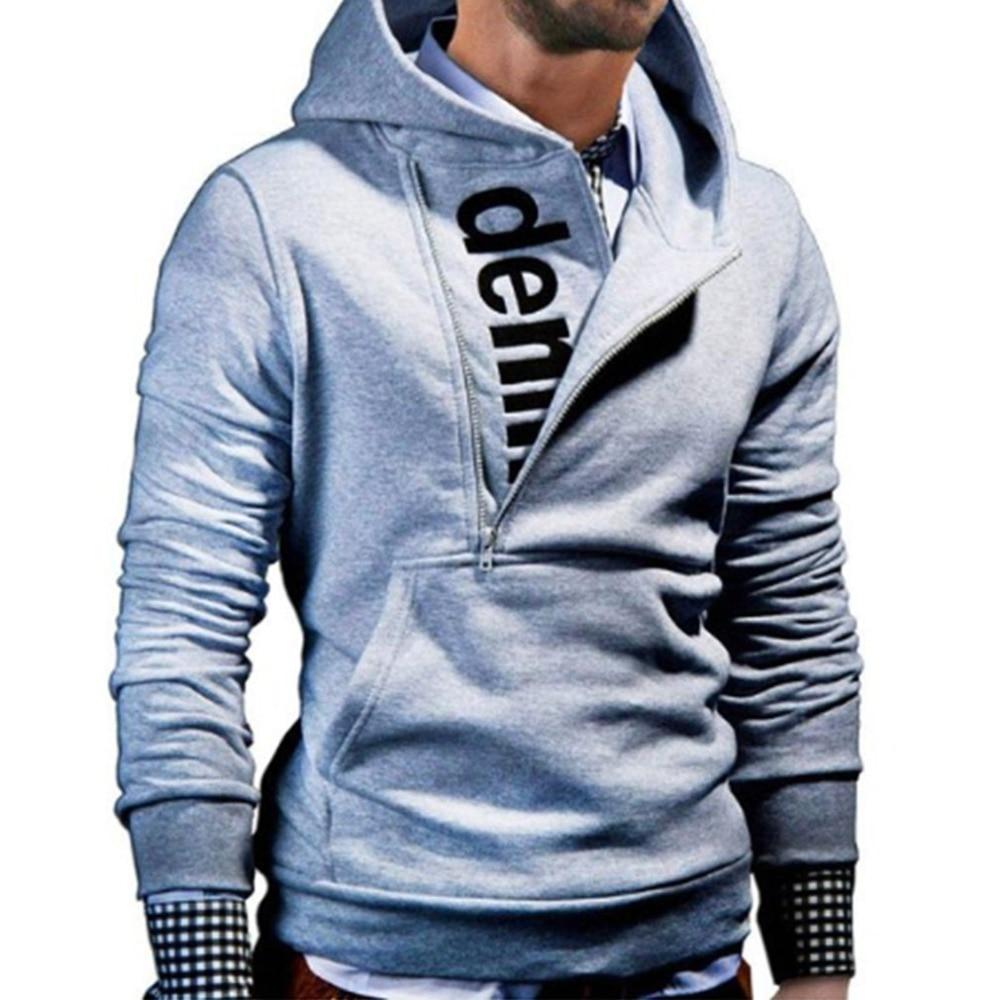 2018 Thicken Warm Hoodies Men Zipper Long Sleeves Hoodie Sweatshirt Men's Letter Printed Tracksuit Sportswear Male Jacket &2