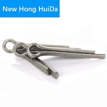 200pcs Hairpin Cotter Pin Dowel 304Stainless Steel M2.5X16/20/25/30/40mm