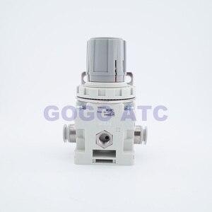 Image 3 - Regulador de vácuo de pressão negativa irv10/20 em linha reta/encaixes de cotovelo com medidor de pressão/regulador de interruptor de pressão digital