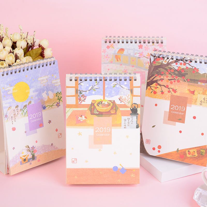 Calendars, Planners & Cards 2019 Simple Style Table Calendar Weekly Planner Monthly Plan To Do List Desk Calendar Daily Desktop Calendar Calendar