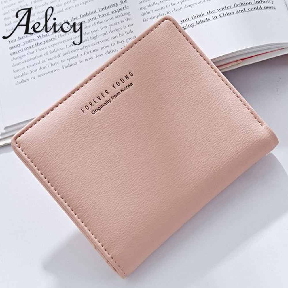 Aelicy Fashion Leather Women Short Wallets Ladies Small Coin Purse Female Card Purses Money Bag luxury brand wallets designer cute girl hasp small wallets women coin purses female coin bag lady cotton cloth pouch kids money mini bag children change purse