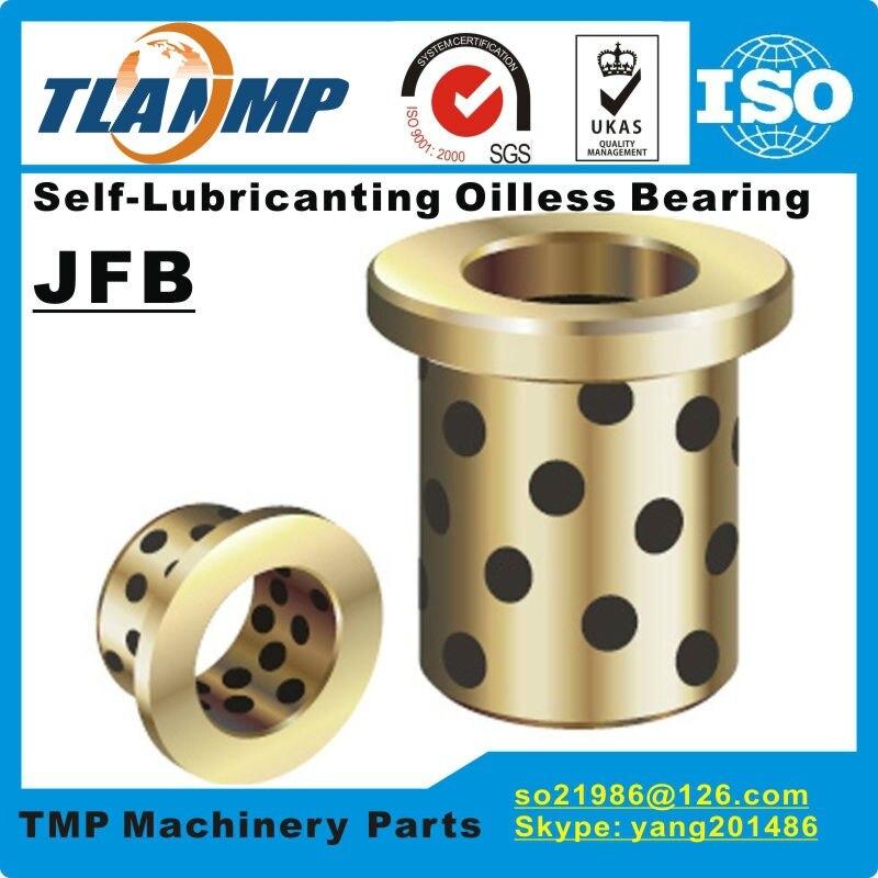 JFB152110 JFB152112 JFB152115 JFB152120 JFB152125 JFB152130 Bronze Flanged Oilless Bearing 1510F/1512F/1515F/1520F/1525F/1530F