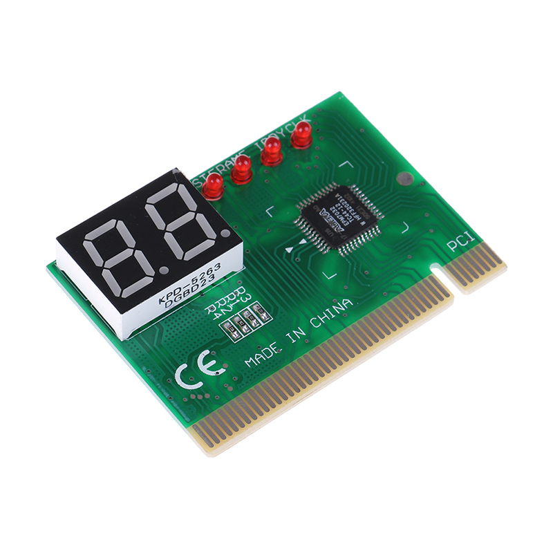 2 Digit PCI Post Card LCD Display PC Analyzer Diagnostic Card Motherboard Tester Computer Analysis Networking Tools