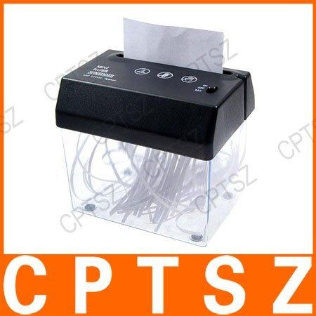 Mini USB paper shredder