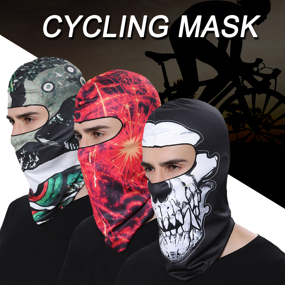 WOSAWE Outdoor Sports Face Mask UV Protection Neck Face Cover Sunscreen Snowboard Ski Bike Fishing Motorcycle 3D Cycling Bandana in Cycling Face Mask from Sports Entertainment