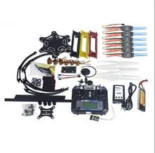 Full Set GPS Drone Quadcopter F550 Hexa-Rotor Air Frame APM2.8 with Camera Gimbal PTZ F05114-AV