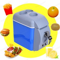 Mini 7.5L Car Warming Refrigerator 12V Auto Freezer Portable Multi Function Keep Cool Warm Heat Fridge