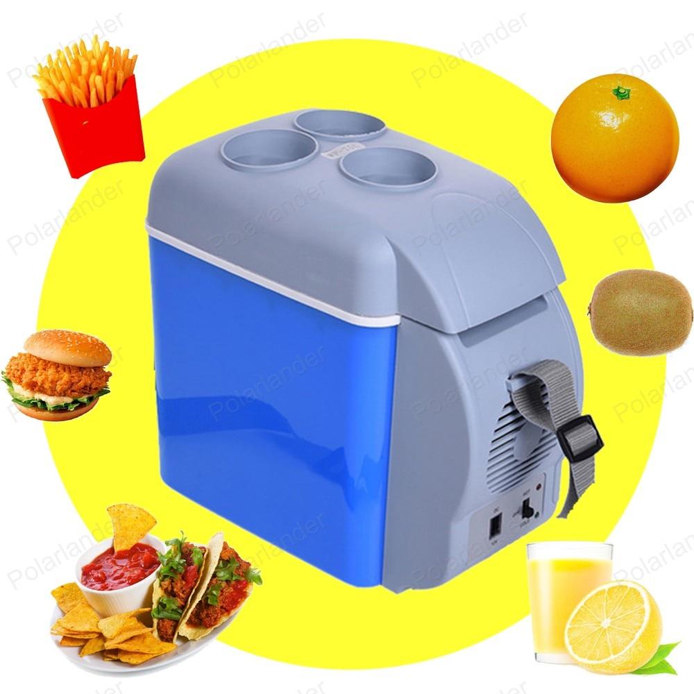 Mini 7.5L Car Warming Refrigerator 12V Auto Freezer Portable Multi-Function Keep Cool Warm Heat Fridge