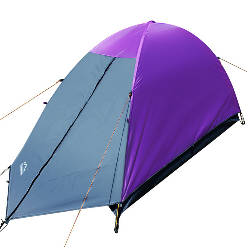 Professional Ultralight Double Layer One Person Camping Tent hiking backpacking trekking climbing tourism Waterproof Tenda
