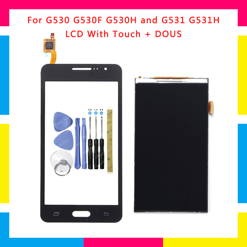 LCD Display With Touch Screen Digitizer Sensor For Samsung Galaxy Grand Prime SM-G530 G530 G530F G530H SM-G531 G531 G531H+T
