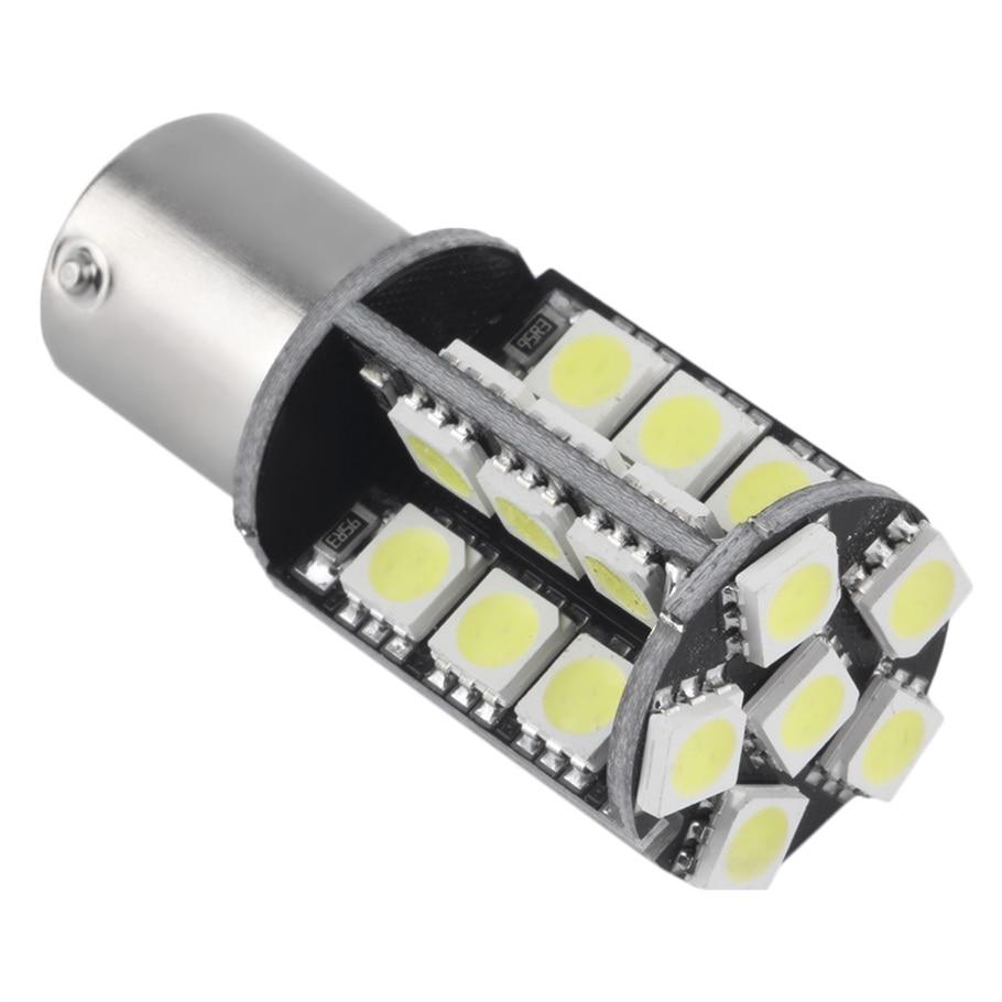 2017 1156 BA15S P21W 1129 30 SMD White Car LED Bulb Auto Car Stop Light Lamp 12V Hot Selling
