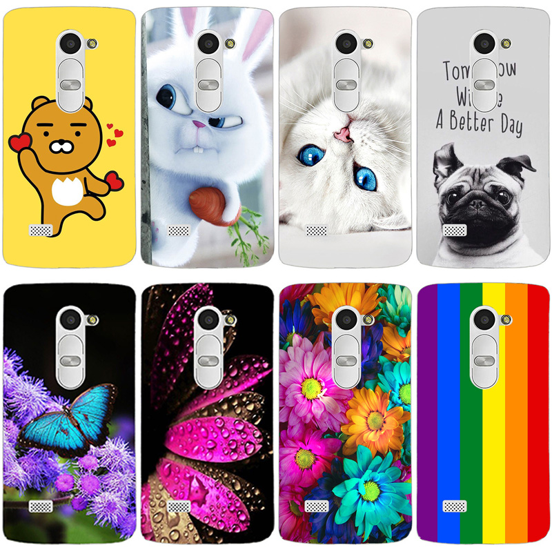 Fundas Phone <font><b>Case</b></font> Cover For <font><b>LG</b></font> <font><b>Leon</b></font> <font><b>4G</b></font> <font><b>LTE</b></font> H324 H320 H340N C50 C40 Soft TPU Silicon Flowers Phone Bag Cover For <font><b>LG</b></font> <font><b>Leon</b></font> <font><b>4G</b></font> <font><b>LTE</b></font> image