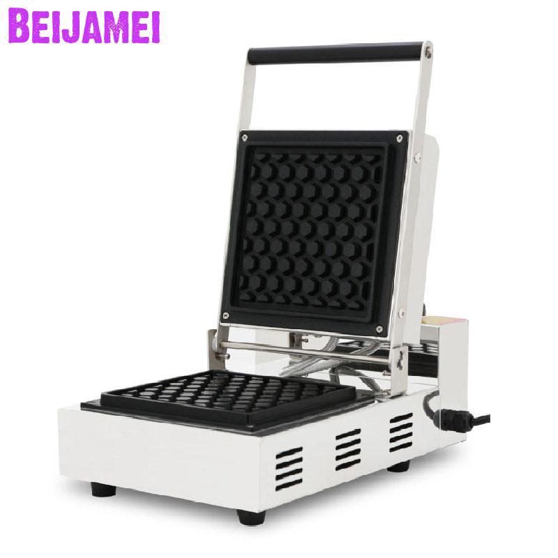 BEIJAMEI машины для приготовления закусок коммерческие сотовые вафельница электрическая палочка вафельная машина для продажи