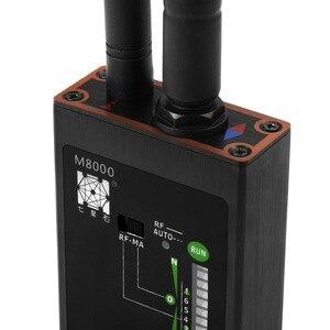 Image 4 - Detector de bug rf m8000 & localizador de câmera x gps rastreador localizador câmera scanner detectores anti espião lente cdma gsm dispositivo localizador monitor