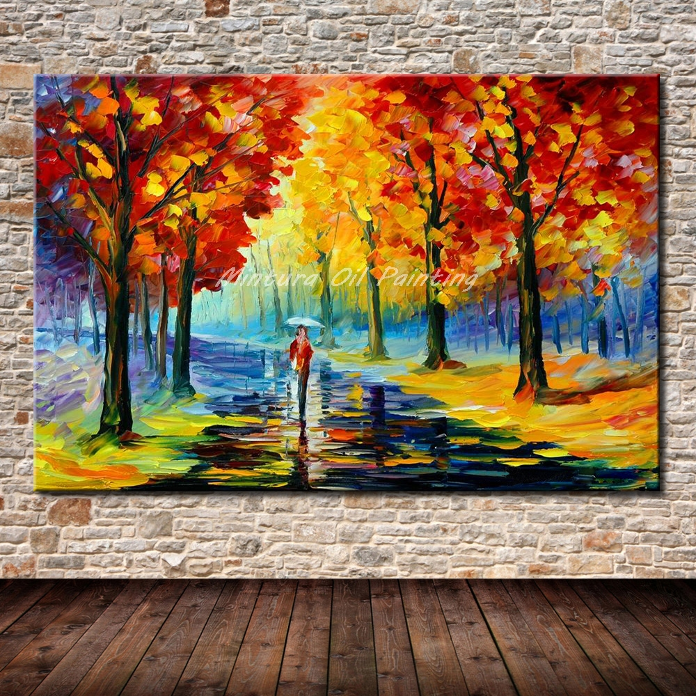 Modern Forest House: Aliexpress.com : Buy Mintura Frameless Paintings Hand