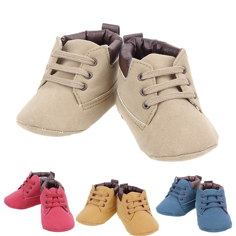 Zapatos de bebé 2017 Niños Recién Nacidos Del Bebé Infant Toddler Primeros Camin