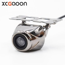 XCGaoon Universal CCD HD Car Rear View Camera Real Waterproof 140 Degree Wide Angle Parking Reversing Assistance
