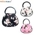 High quality Women Floral leather Shoulder Bag Satchel Handbag Retro Messenger Bag