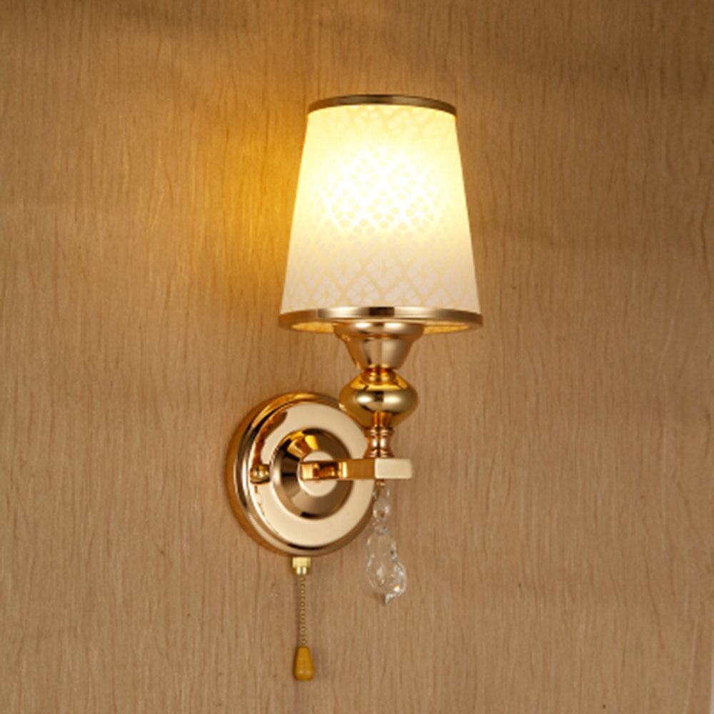 HGhomeart Switch Button Led Wall Light Simple Modern Led Lamp Wall Mounted Bedside Readi ...