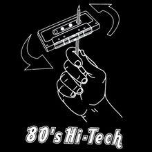 classic Cassette Tape 80s Hi-Tech DJ Mens T-SHIRT club mixtape music tee S-XL Harajuku Tops Fashion Classic Unique t-Shirt