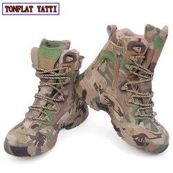 2020 marka taktyczna wojskowa walka odkryty Sport armia mężczyźni buty Desert Botas turystyka jesień buty podróży skórzane wysokie buty męskie