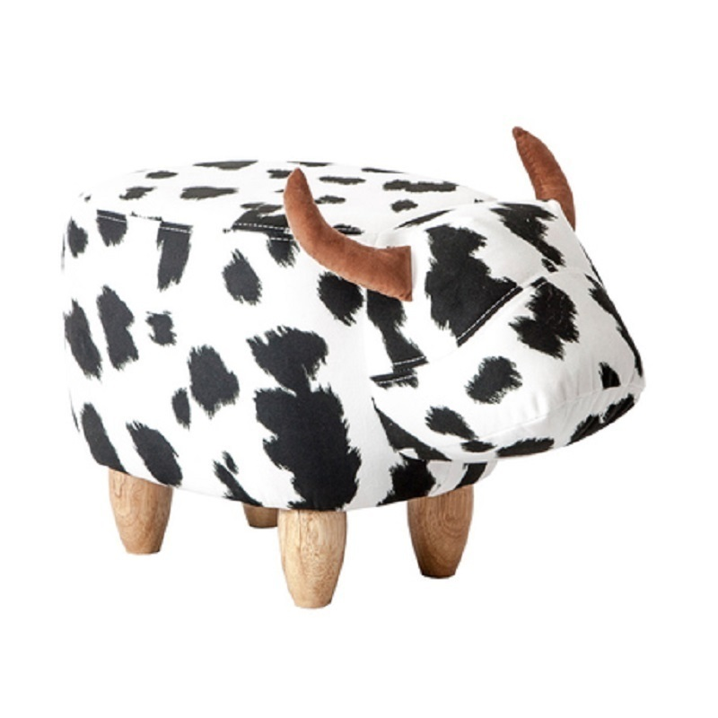 shoe bench sofa Creative design shoes Niu Dunzi storage cartoon stool admission footstool niu kangte in sale dha
