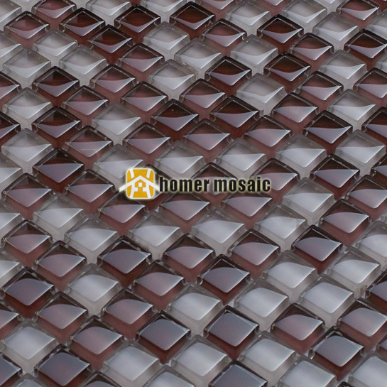 Lila Glasmosaik Fliesen EHGM1032 Für Schwimmbad Badezimmer Dusche Fliesen  Wand Mosaikfliesen Küche Backsplash Kostenloser Versand