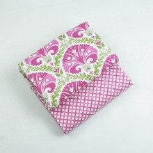 2 piezas 150*50CM estilo étnico Vintage tela de retales 100% algodón para coser edredones ropa de cama cojines textiles para el hogar/metro