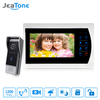 JeaTone 7 Wired Video Intercom Doorbell With Camera 1 3 CMOS 1200TVL High Resolution Security System
