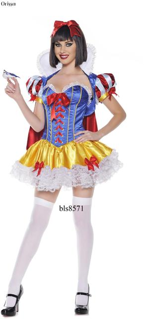 for women Sexy snow costume white
