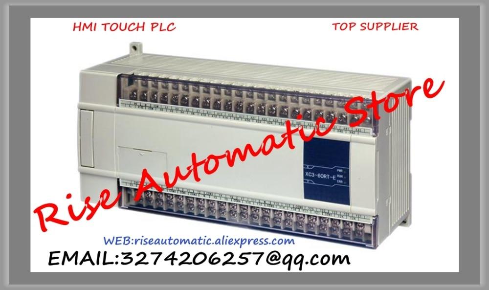 New Original Programmable Controller Module XC2-48RT-E PLC AC220V DI 28 DO 20 Relay Transistor mixed output plc programmable logic controller module and 3 5 inch hmi learning plan hmi plc