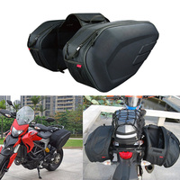 New Motorcycle Helmet Travel Bags Suitcase Saddlebags and Raincoat Moto Waterproof Racing Race For KTM PIAGGIO Aprilia Motor