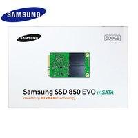 Samsung SSD 850 EVO Interna mSATA SATA III 250 GB 500 GB 1 T HD Disco Duro de Estado sólido de Alta Velocidad para PC de Escritorio del Ordenador