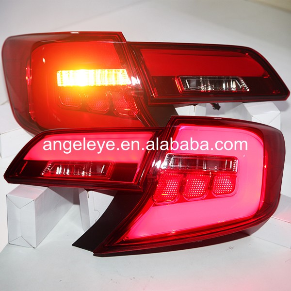 2012-2014 Year for Toyota for Camry LED  Rear Lights Tail lamp back light  Red color U.S version YZ 2014 2015 year camry v55 led bumper light for toyota v1