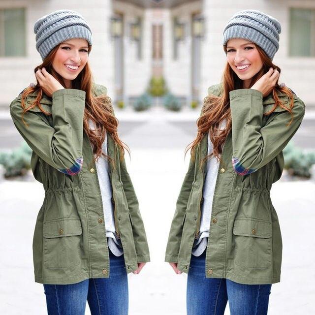 Green Denim Jacket Womens