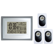 DYKIE Wireless Weather Station Lcd Screen Indooor Outdoor with Transmitter