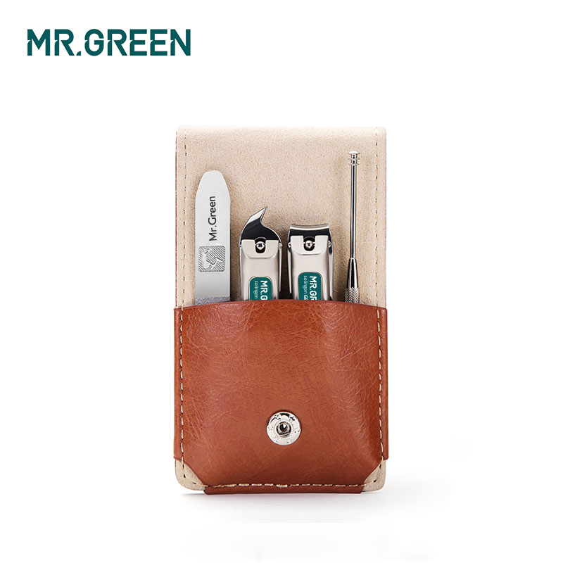 MR.GREEN  Manicure Set Professional Stainless Steel Nail Clippers Oblique Cut