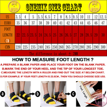 ONEMIX Man Running Shoes For Men Nice Zapatillas Athletic Trainers Black Red Sports Air Cushion Outdoor Jogging Walking Sneakers