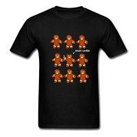 Smart Cookie Graduate Men S T Shirt Print T Shirt Harajuku Short Sleeve Men Top Men