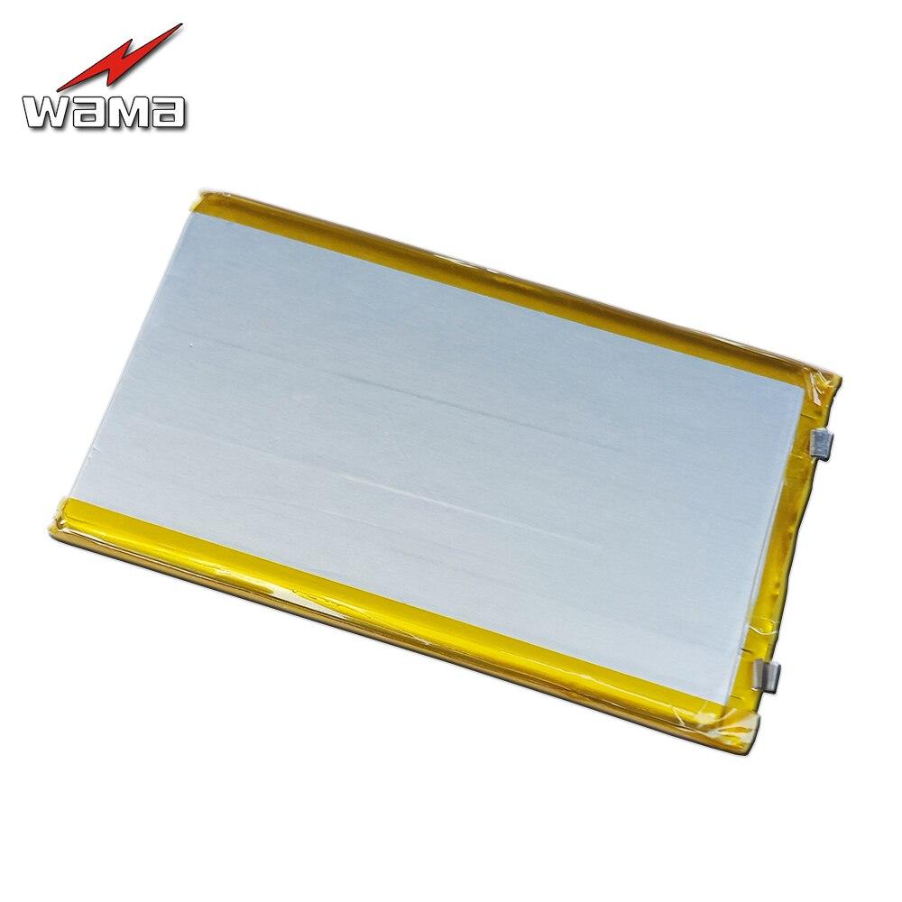 6eaf20513 2 pçs lote 606095 Baterias de Polímero de Lítio de 4000 mAh 3.7 V  Recarregável para Produtos Digitais MP4 Tablet de Energia Da Bateria de  Volta