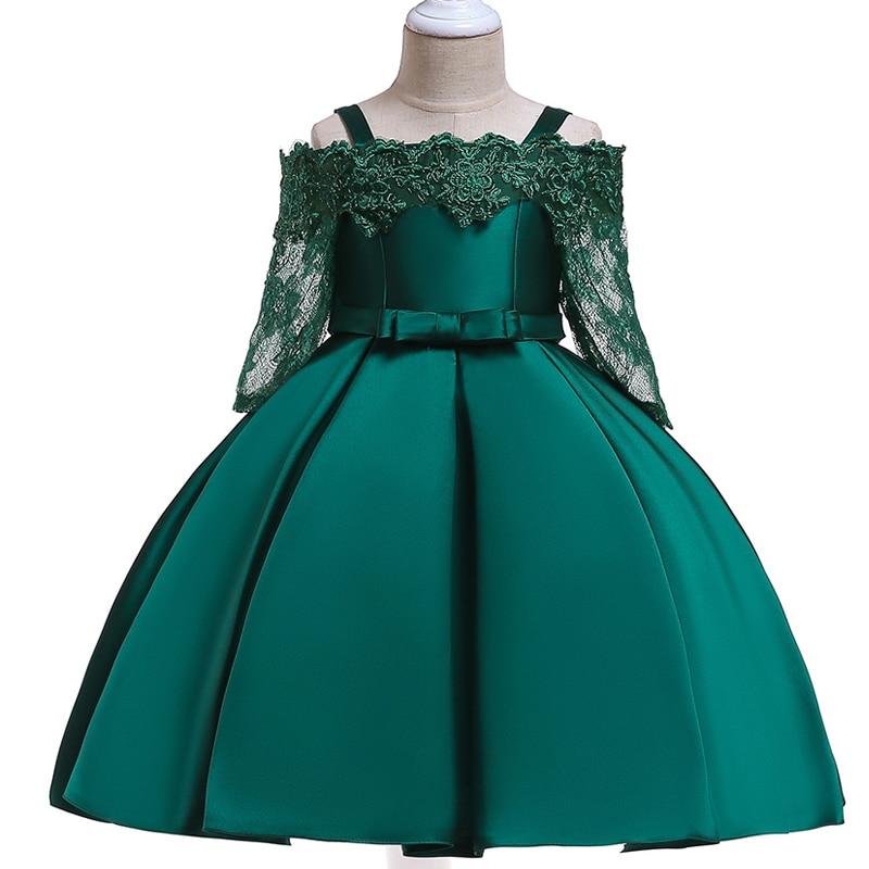 592cab1ac 2019 traje de la princesa vestidos de niños para Niñas Ropa de fiesta niñas  vestido de boda elegante vestido para niña ropa de 3 10 años