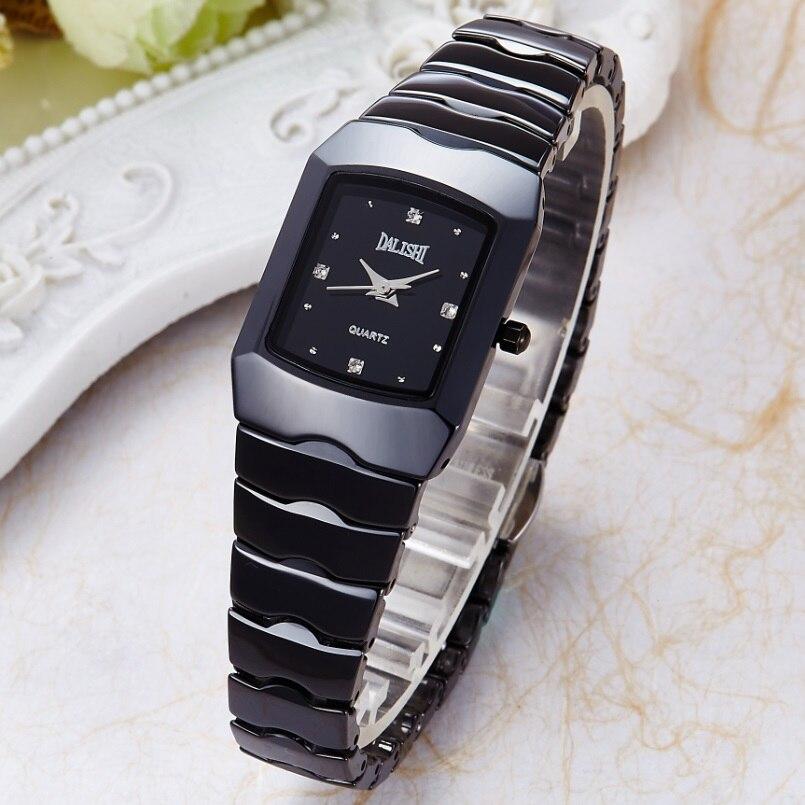 DALISHI Top Marque Lady Quartz Montre En Céramique Simple Femmes Robe De Mode montre-bracelet Famale Charme D'affaires Horloge Zegarki Damskie